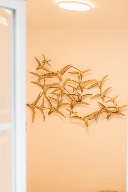 Reabilitação de apartamento em alfama - decoração de parede para quarto