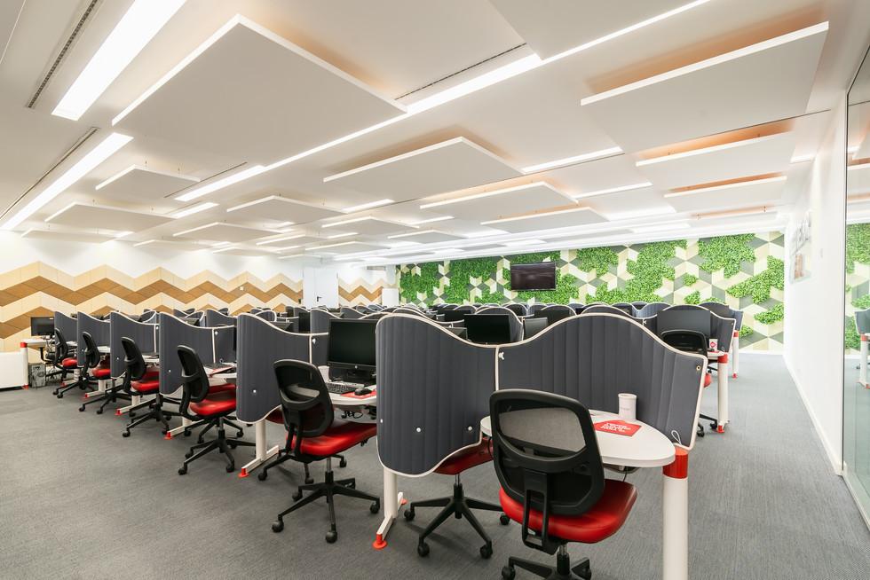 mobiliário de escritórios para call center