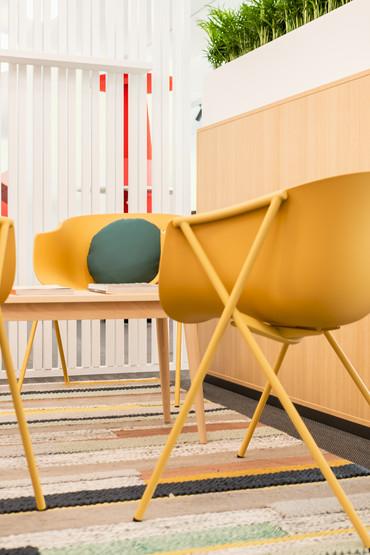 cadeiras para zona de espera