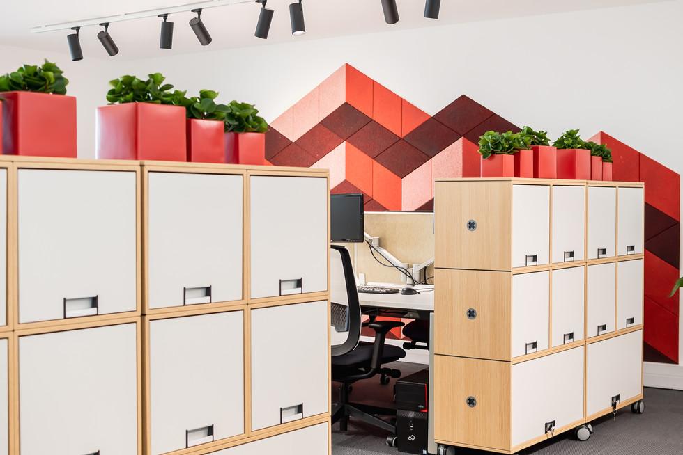 armários modulares para escritório