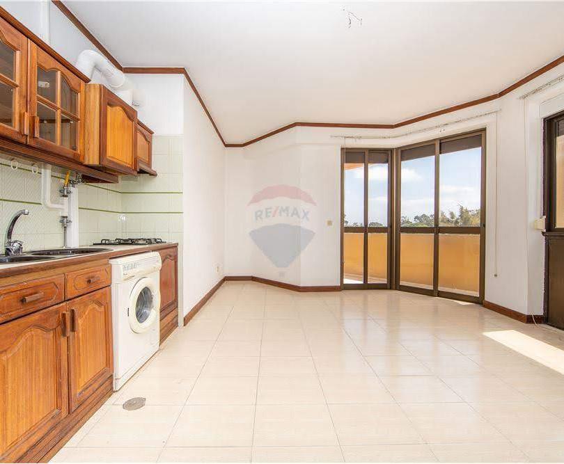 Sala e Cozinha - Antes da remodelação