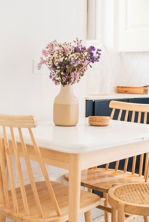 Decoração de apartamento em alfama - Mobiliário para refeições