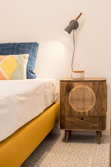 Reabilitação de apartamento em alfama - decoração de quarto