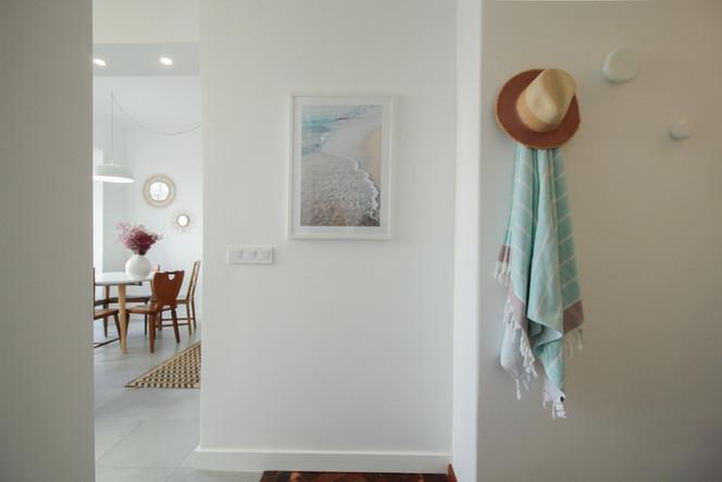 Design de interiores e decoração de corredor