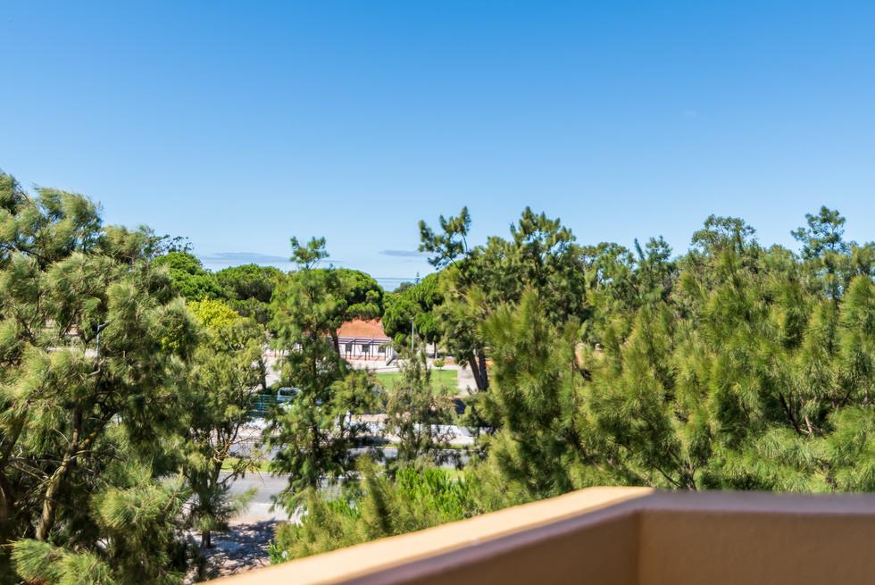 Vista da sala - casa de praia