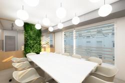 Design de sala de reuniões
