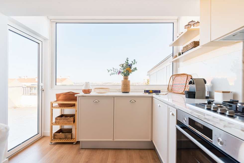 Reabilitação de cozinha em open space