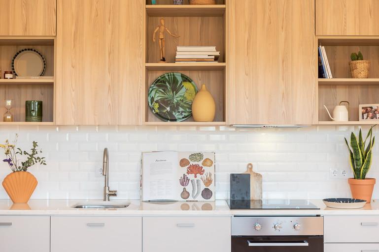 cozinha de casa de praia