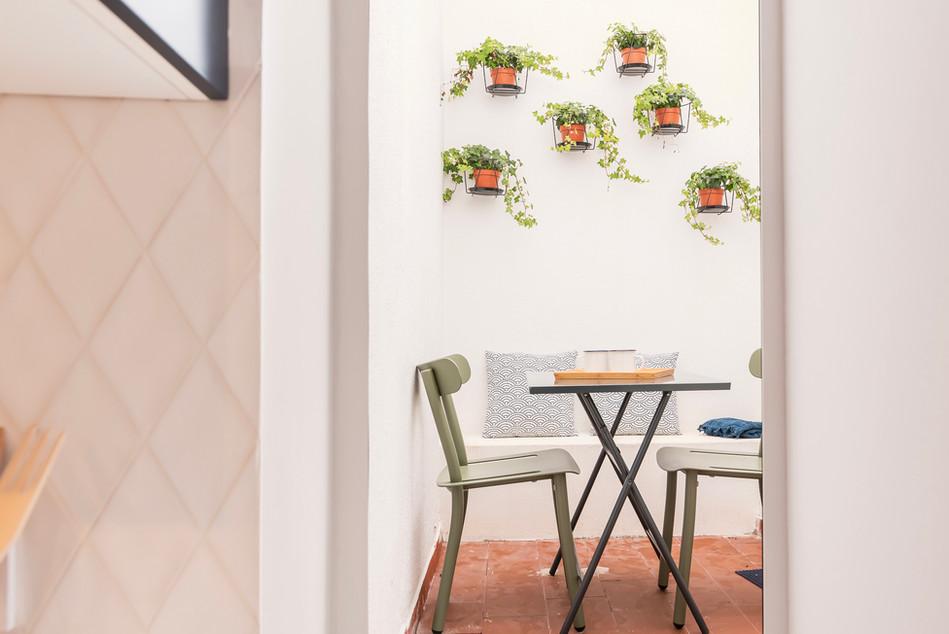 Reabilitação de apartamento em alfama - Pátio e zona exterior