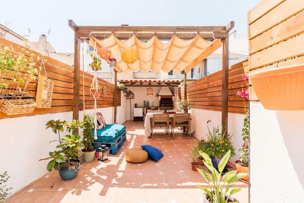 remodelação de terraço