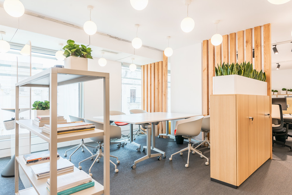 Sala de reuniões flexivel