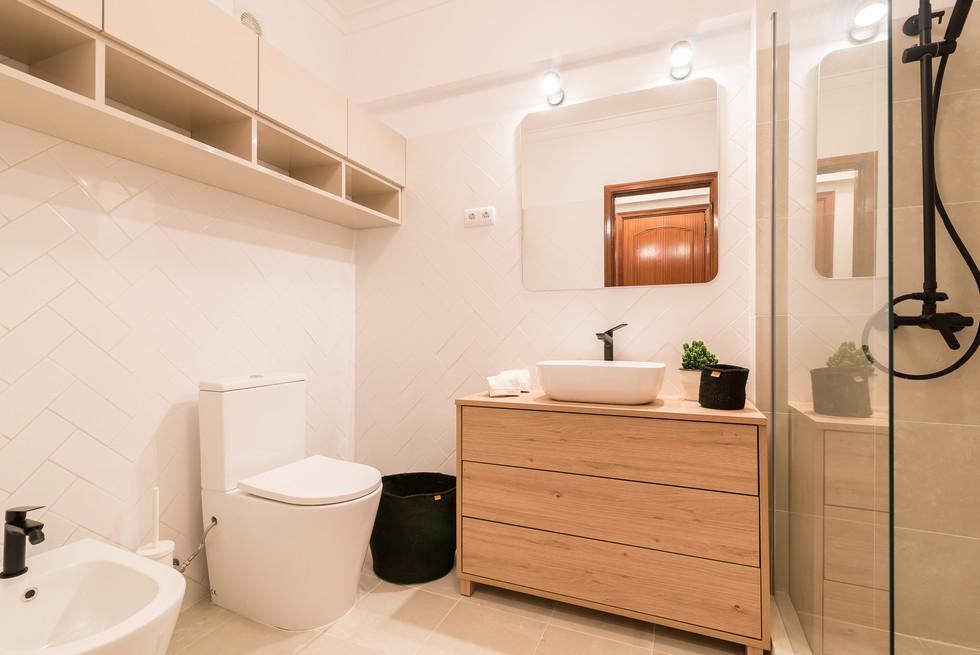 Design de casa-de-banho