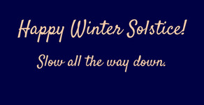 A Winter Solstice Meditation