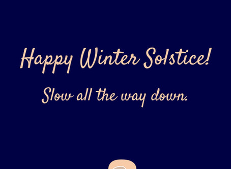 A Winter Solstice Meditation