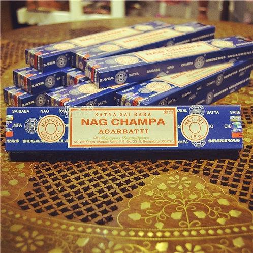 Satya Sai Baba Nag Champa Aromatic Meditation Incense