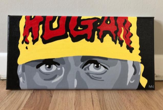 hulk hogan painting