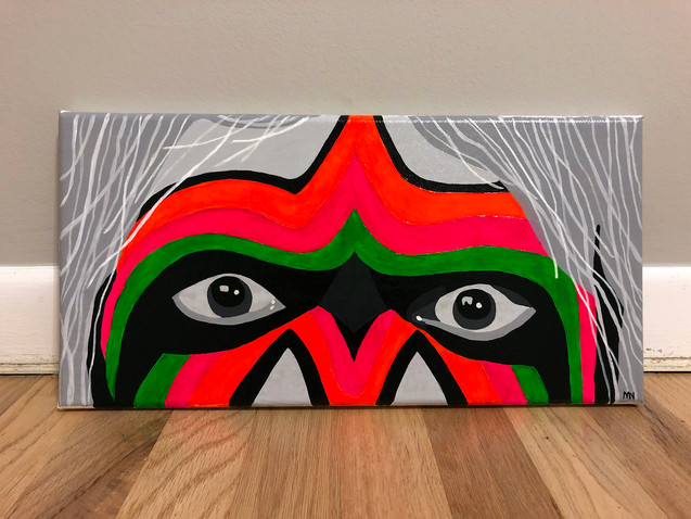 ultimate warrior painting