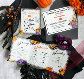 costume party invitation
