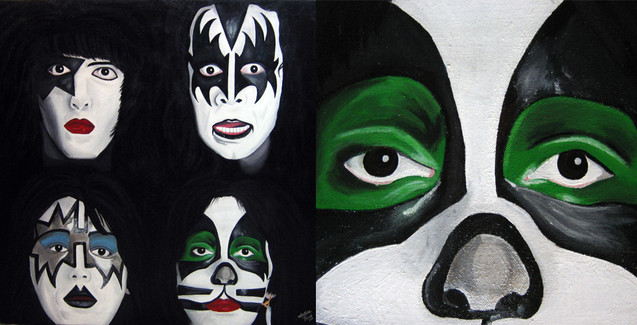 kiss dynasty painting