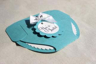 diaper invitation