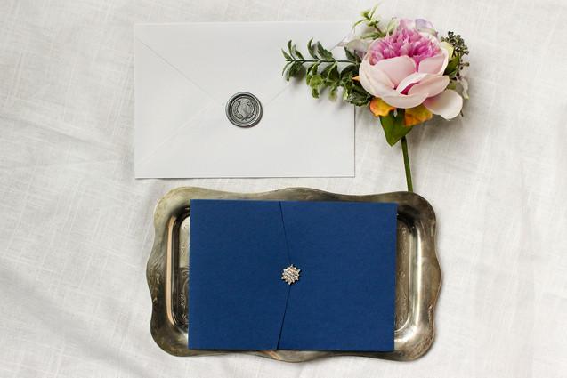 wedding pocket wax seal