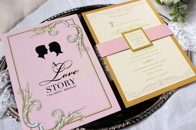 jane austen wedding invitation