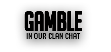 Gamble in our clan chat runescape transparent text