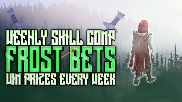 Runescape Skilling competition giveaway