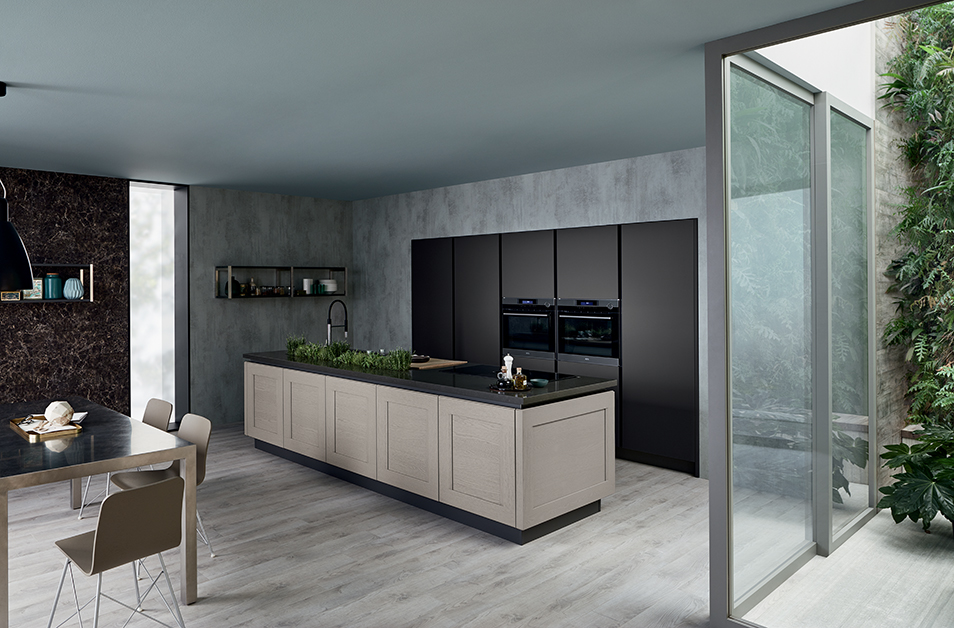veneta cucine paris show room tendard de la marque. Black Bedroom Furniture Sets. Home Design Ideas