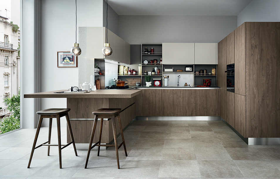 Affordable cuisine italienne veneta cucine with marque for Marque cuisine italienne design