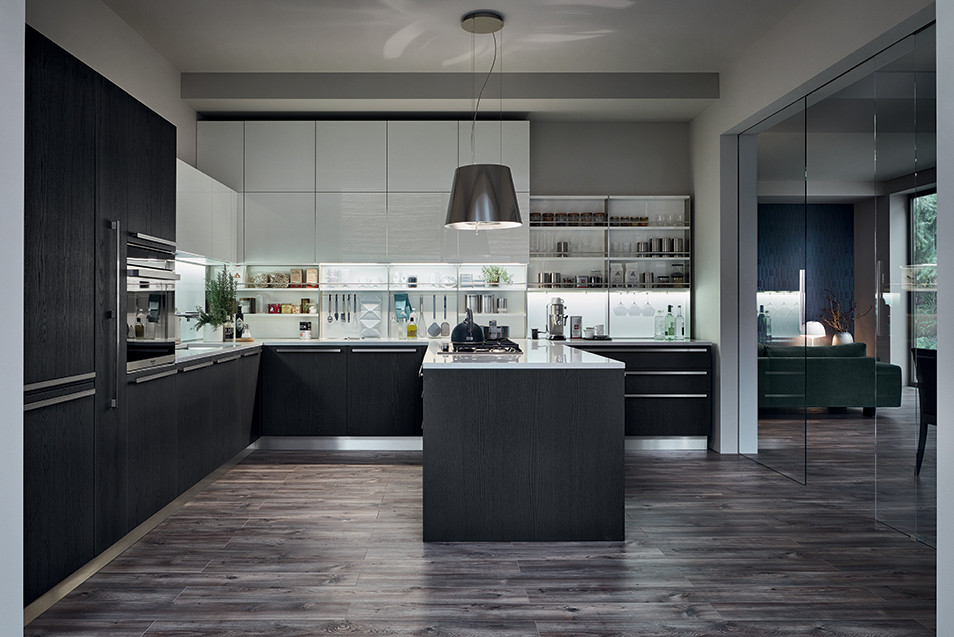 beautiful cuisine italienne veneta cucine with cuisine italienne design. Black Bedroom Furniture Sets. Home Design Ideas
