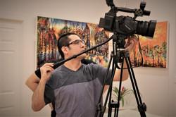 Reportaj pictura cu NasulTV (1)