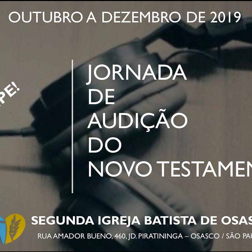 Jornada de Audição do Novo Testamento.