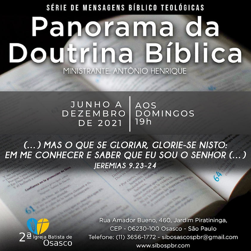 Panorama da Doutrina Bíblica