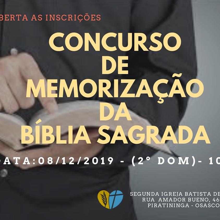 Concurso de Memorização da Bíblia Sagrada