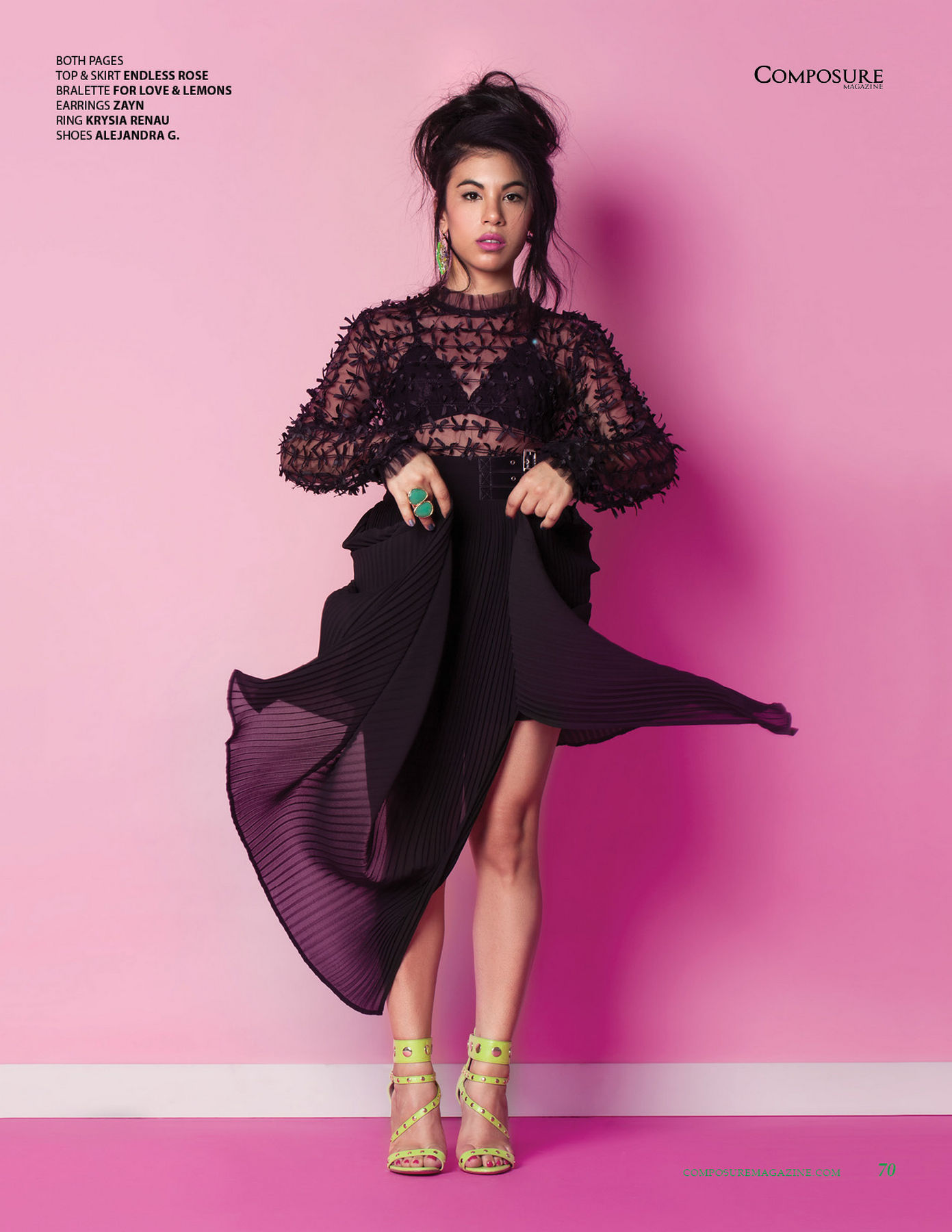 Chrissie Fit - ComposureMagazine