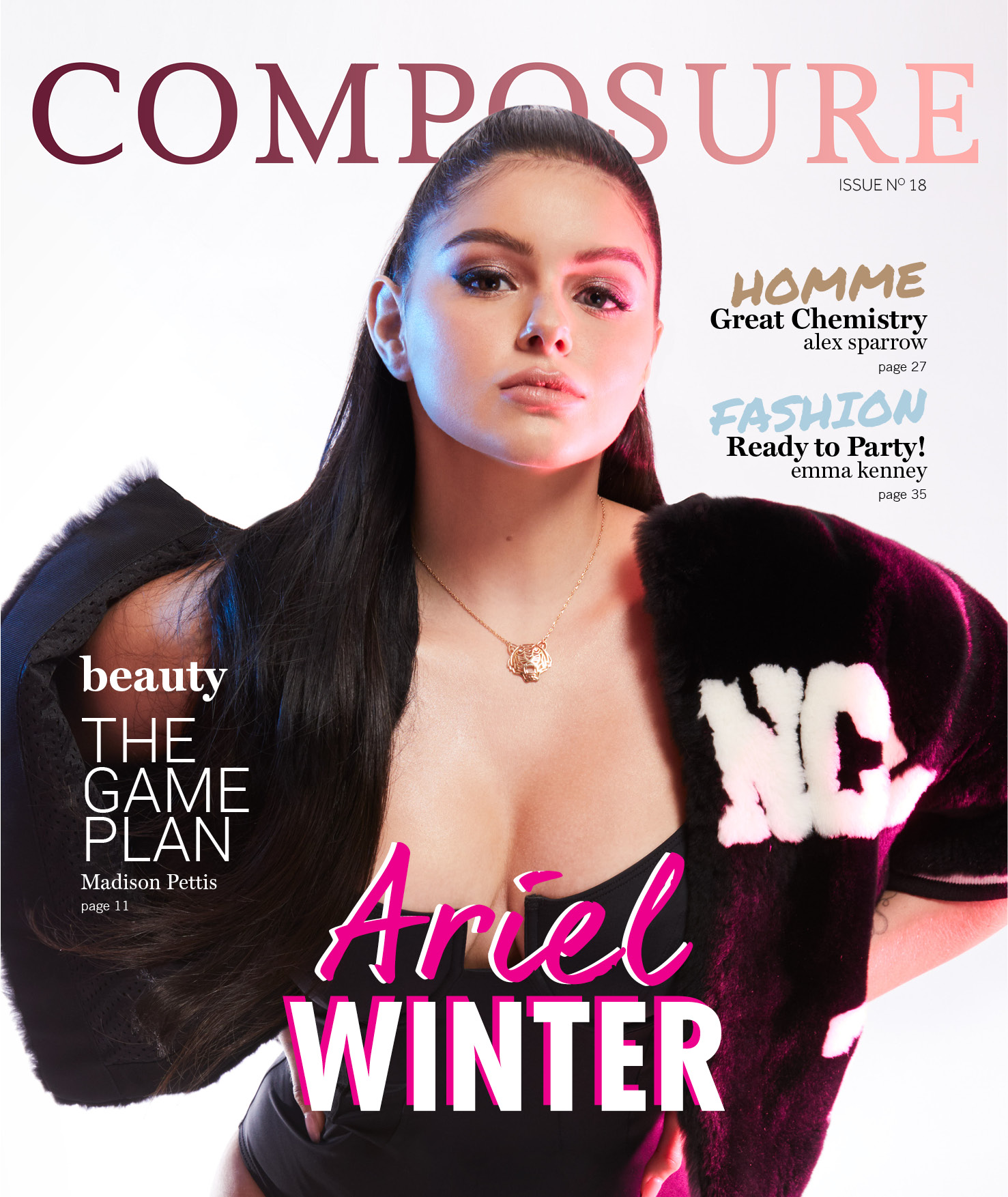 Composure Magazine  - Ariel Winter