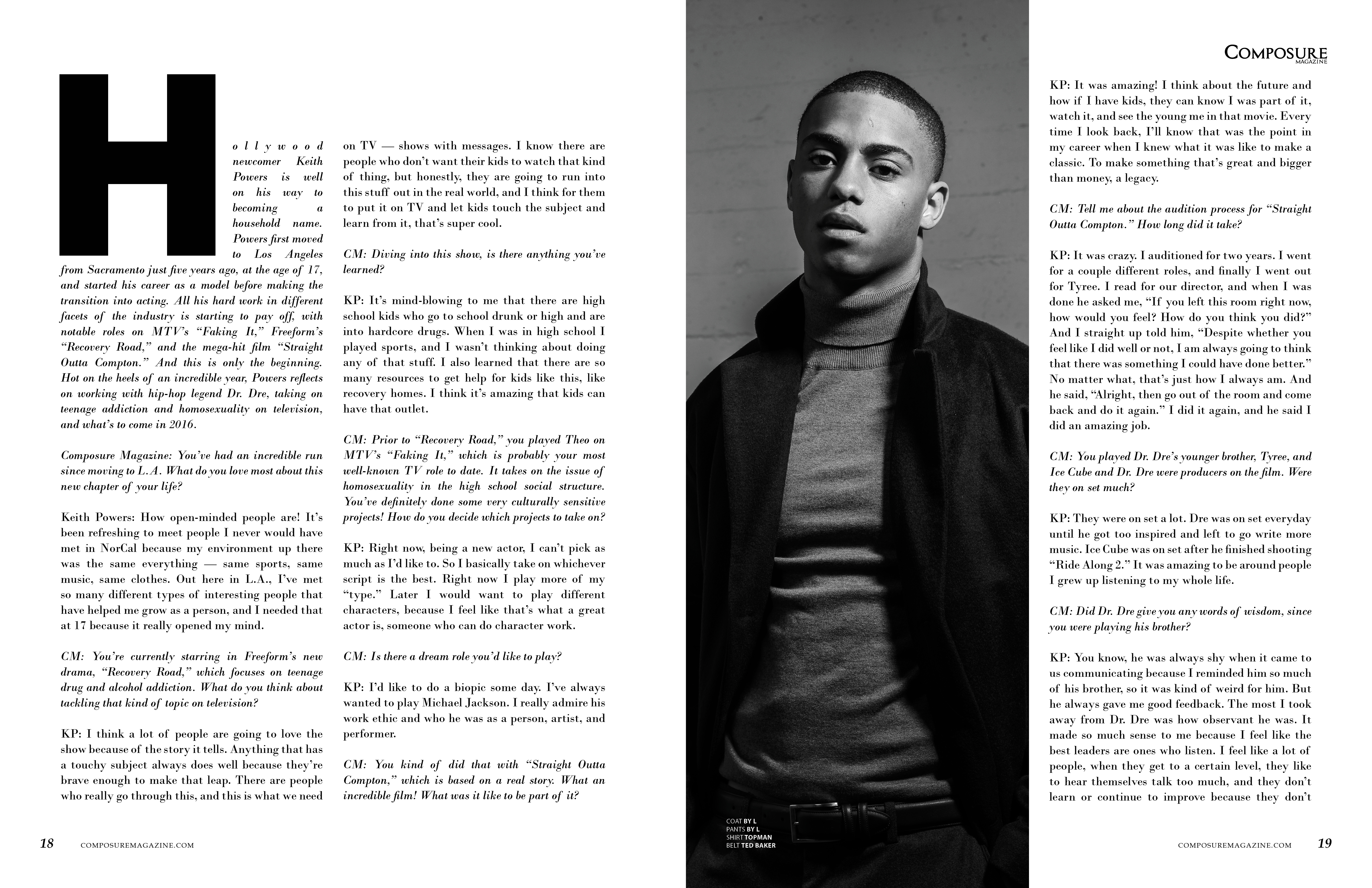 Keith Powers - Composure Magazine