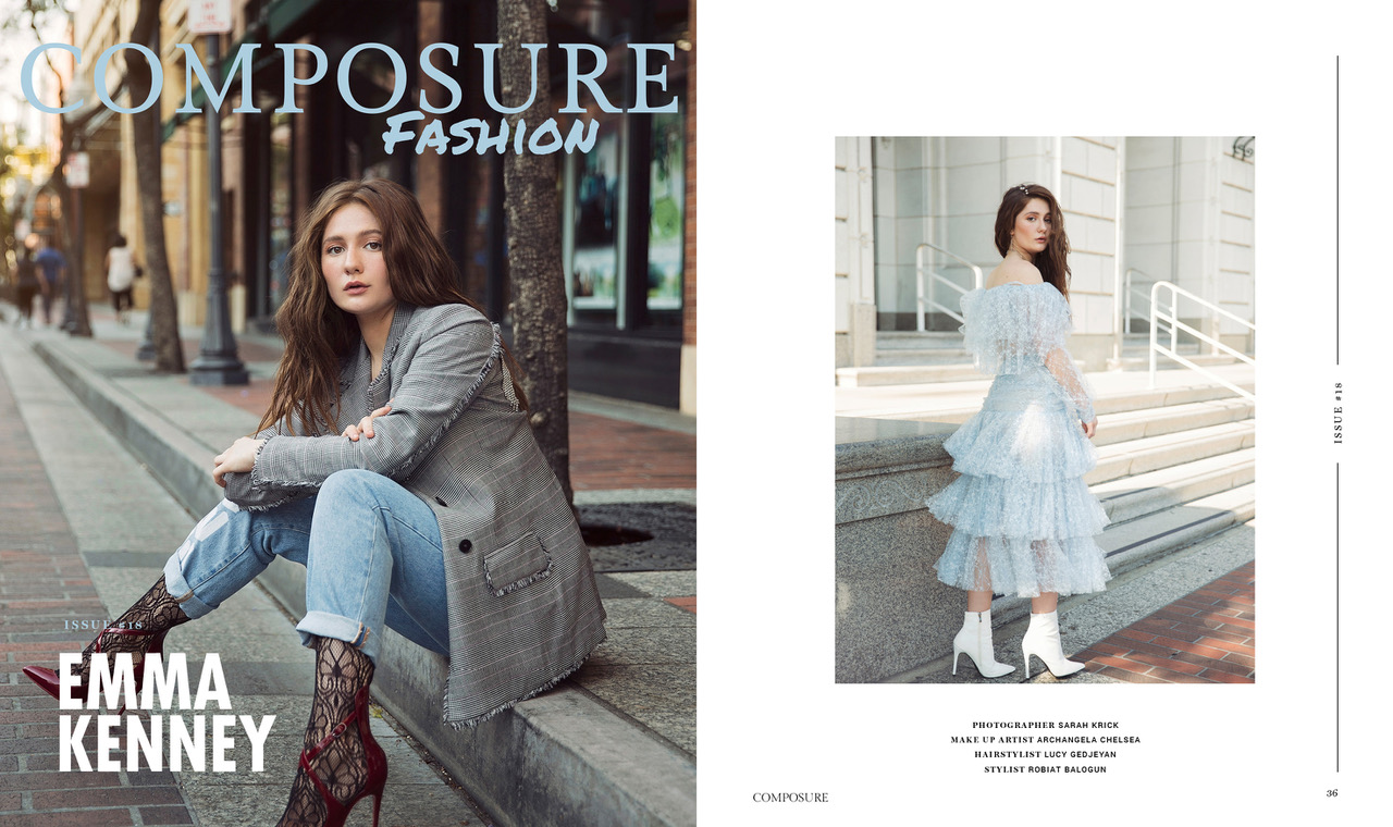 Composure Magazine  - Emma Kenney