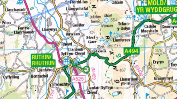 Clwydian Way Challenge - Saturday 19th June, 2021