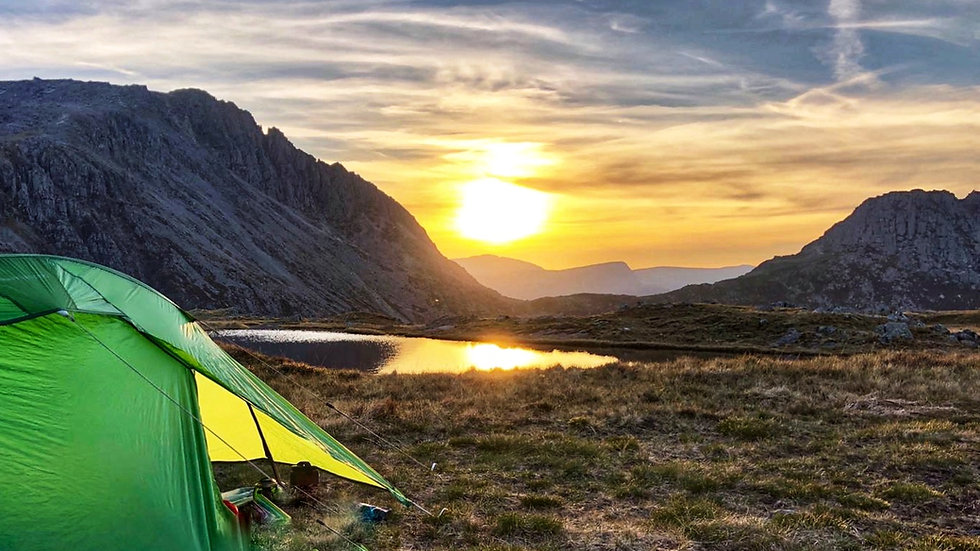 Wild camping experience - Saturday 28th August, 2021