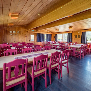 Spisesal i Huldreheim.