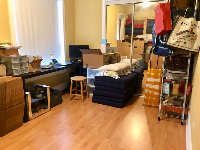 Guest room before makeover