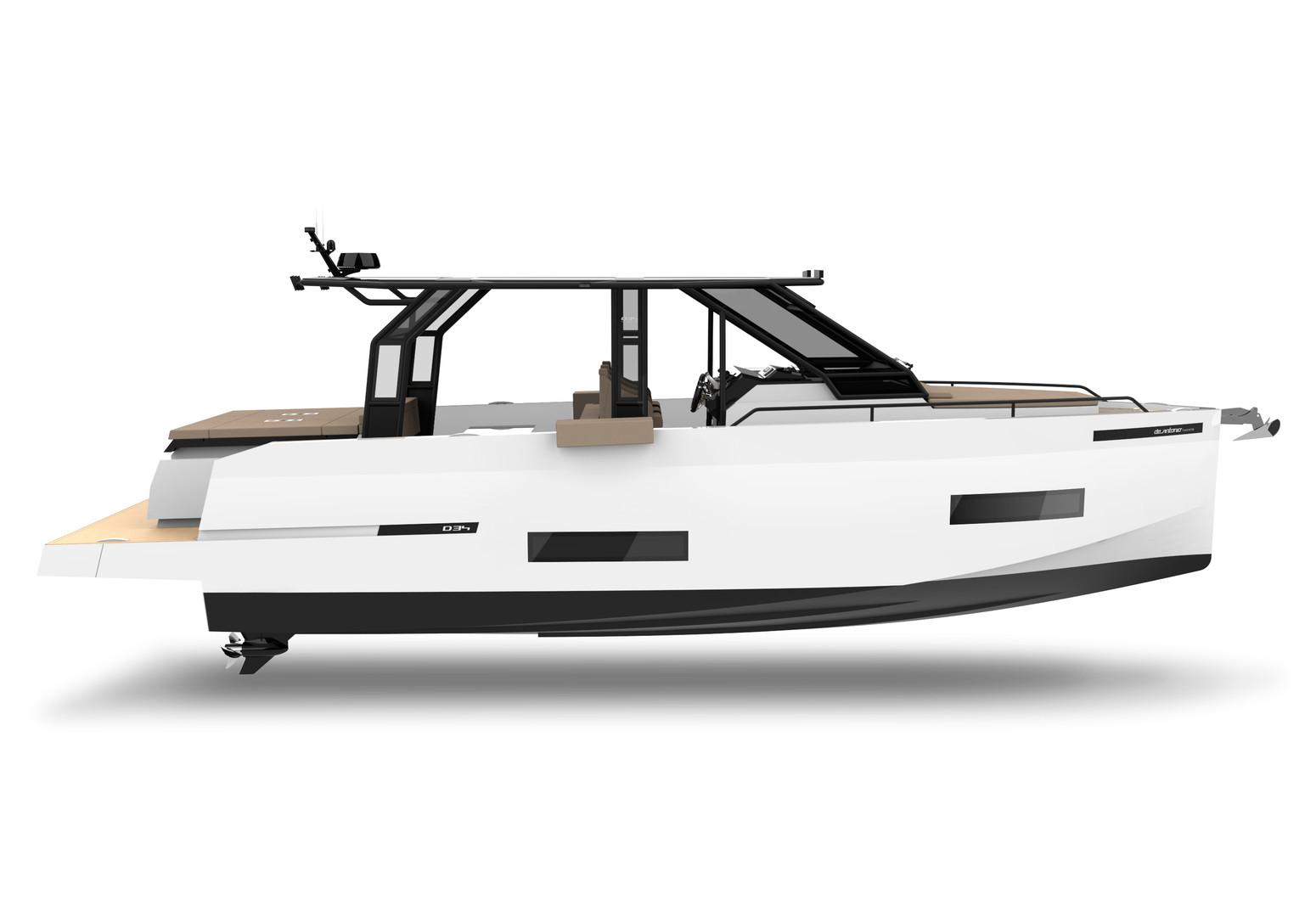 De Antonio Yachts_D34 Xplorer-C_Side vie