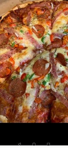 prøv vår populære pizza!