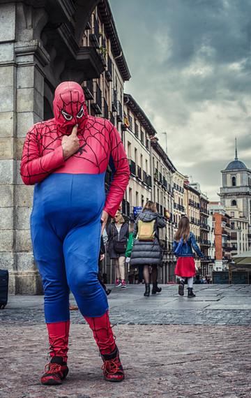 Madrid heroes (Plaza Mayor)