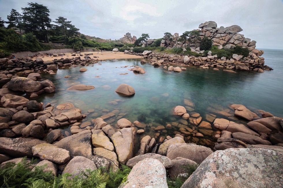 Granite Rose coast