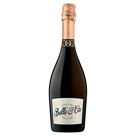 Belle & Co Sparkling Rose 0%