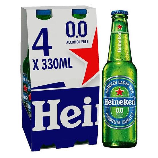 Heineken 0% Pack of 4