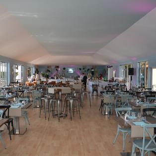 Restaurant le Masters - Salle en intérieur